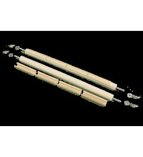 (ПГК-40 см) Планки горизонтальные с клипсами 40см.